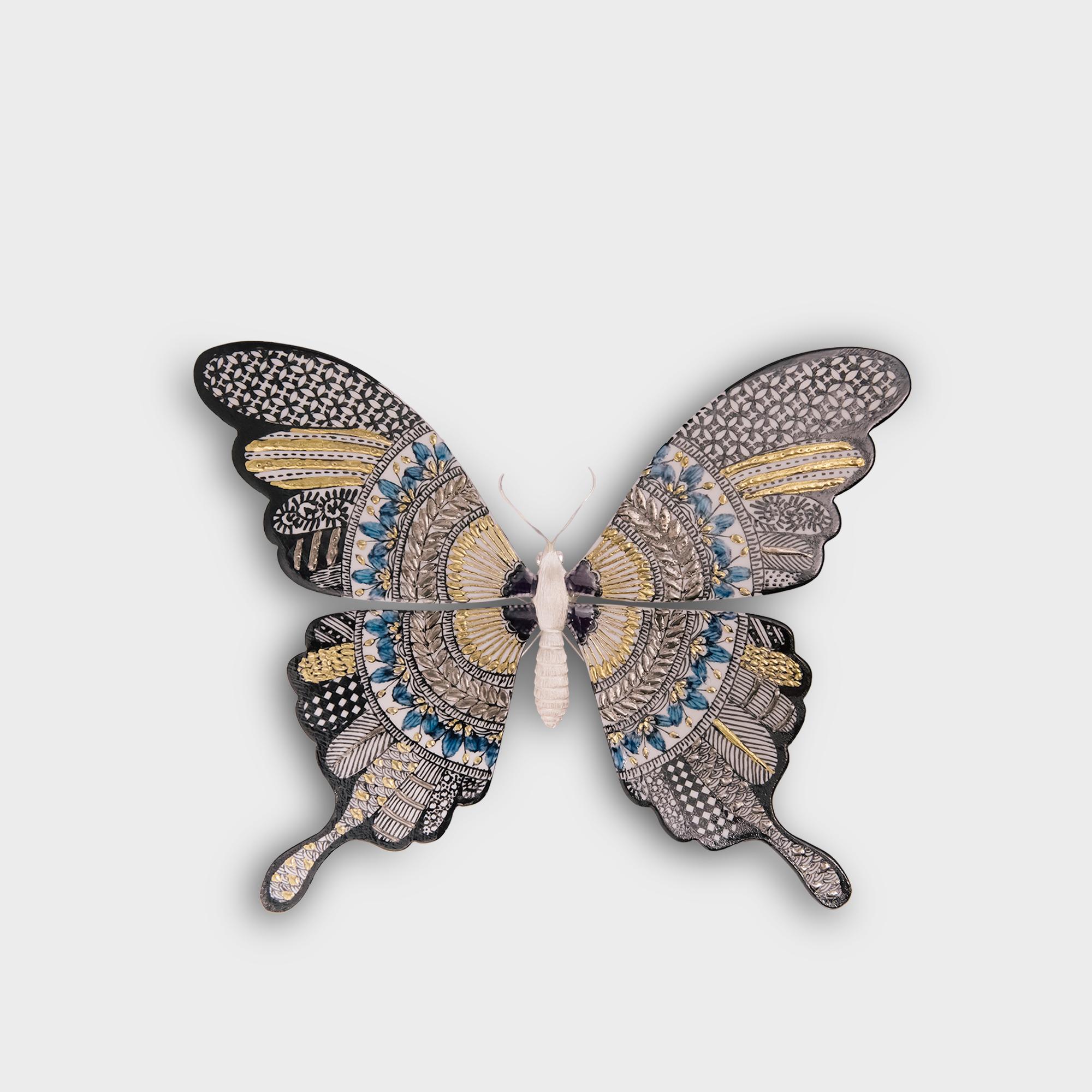 九谷焼 蝶
