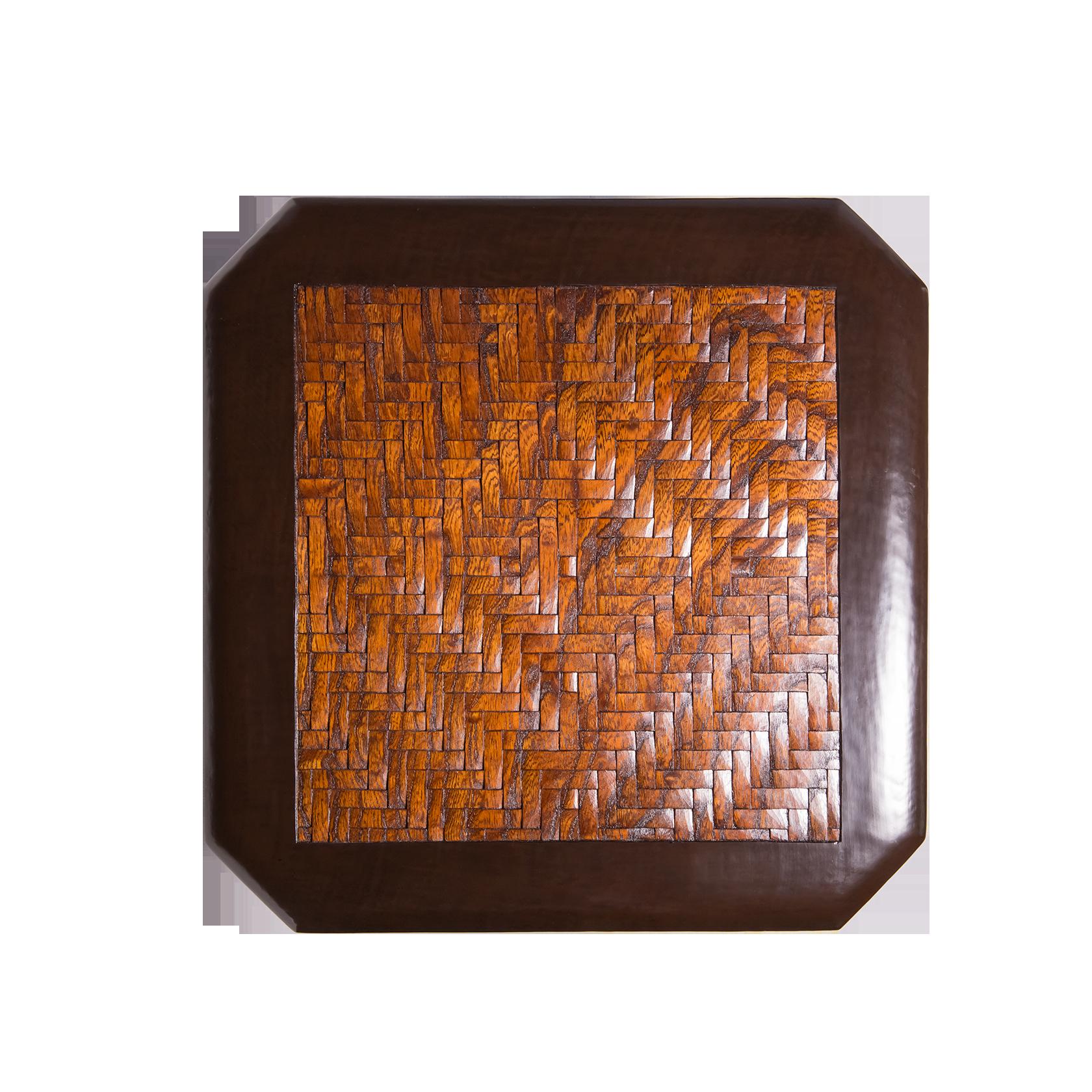 網代紋布張箱