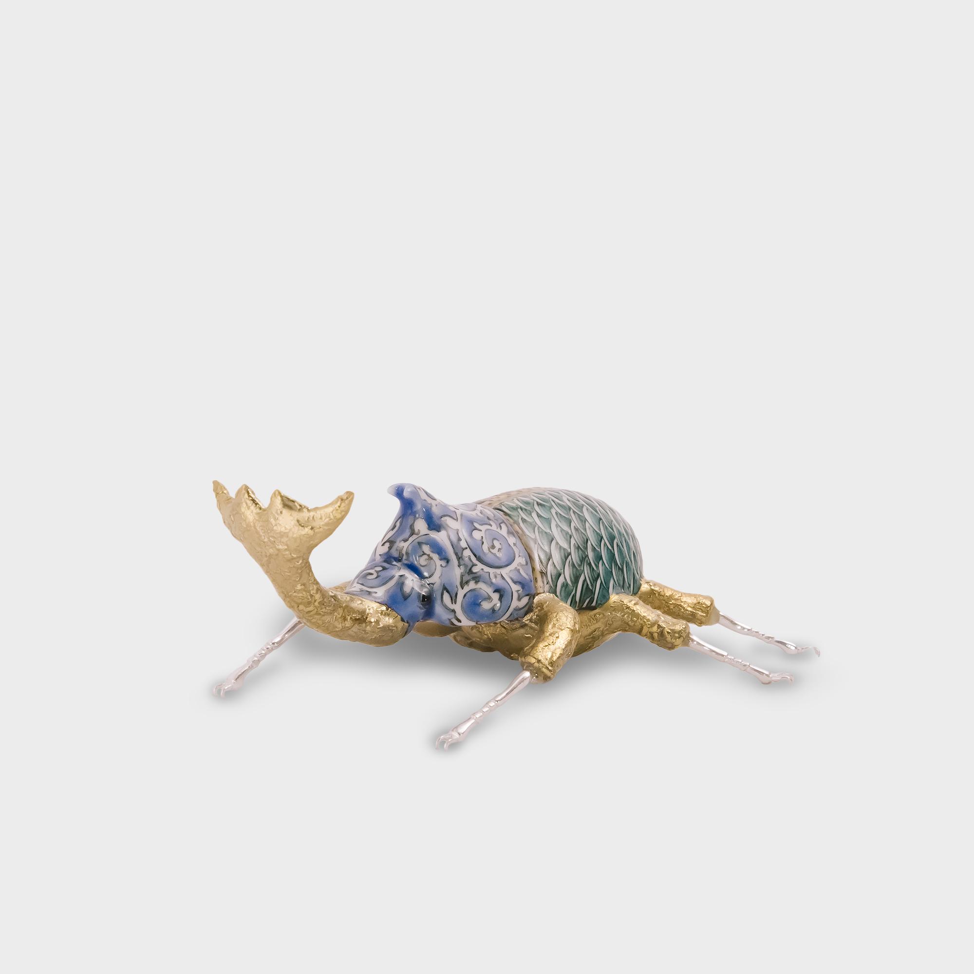 九谷焼 カブトムシ