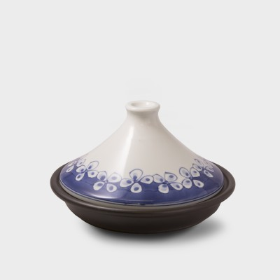 青花タジン鍋(花つなぎ)