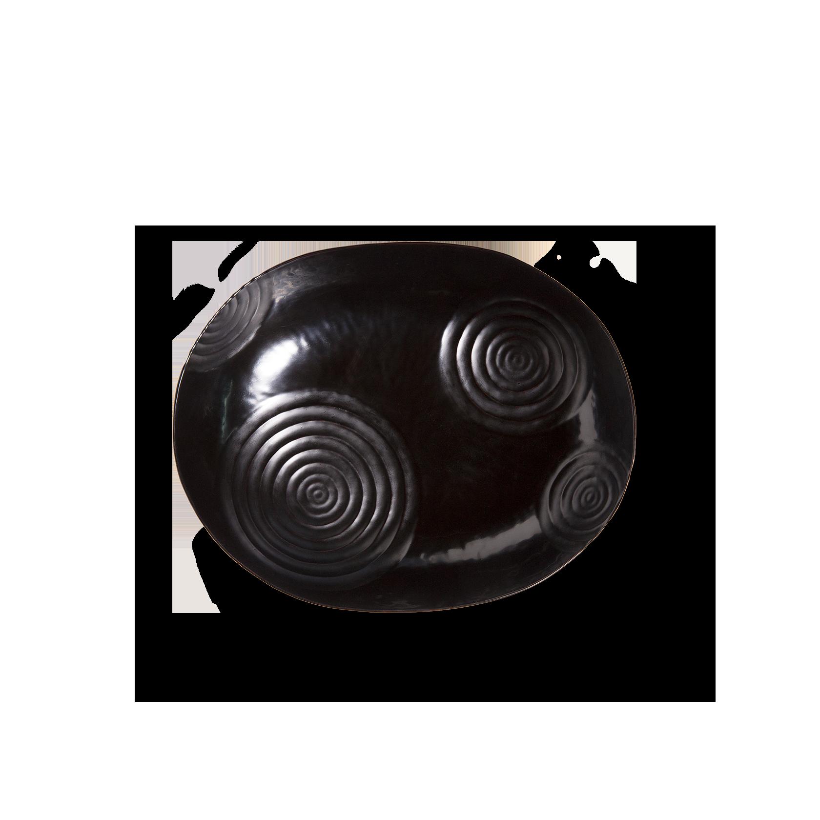 小判欅紋の手繰り鉢