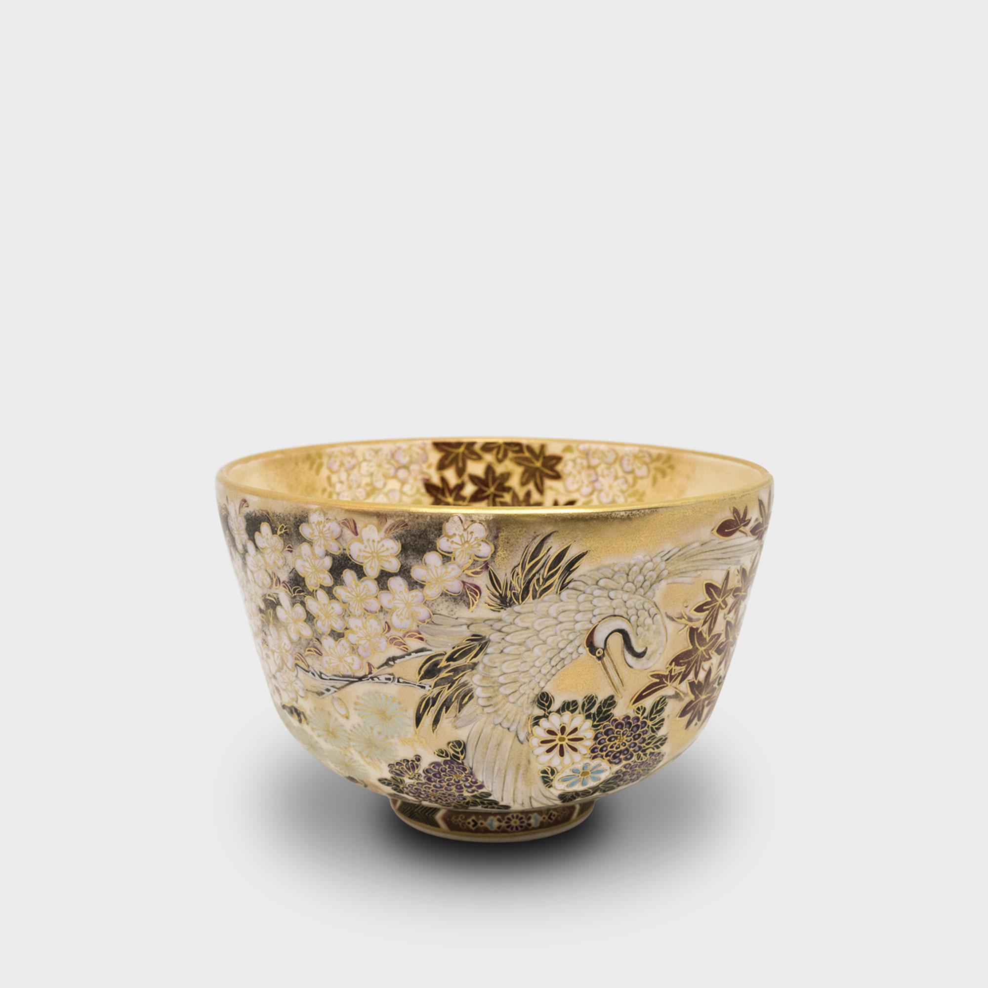 京薩摩 茶碗