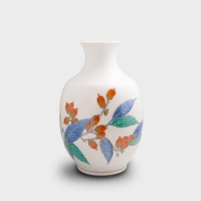 濁手 団栗文 花瓶
